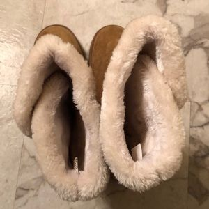 Old Navy Shoes - Old Navy Fuzzy Boots